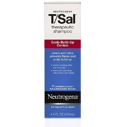 Neutrogena T Sal Therapeutic Shampoo, Scalp Build-up Control