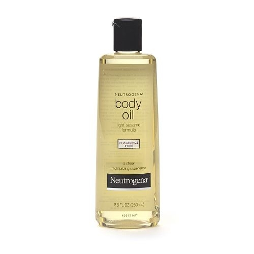 Neutrogena Body Oil, Light Sesame Formula