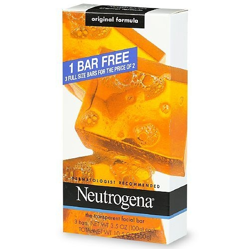Neutrogena Transparent Facial Bar Bonus Pack