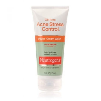 Neutrogena Oil-Free Acne Stress Control Power Cream Wash