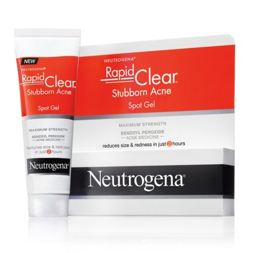 Gel chấm mụn Neutrogena Rapid Clear Stubborn Acne Spot Gel