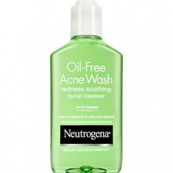 Neutrogena oil free acne wash redness soothing facial cleanser