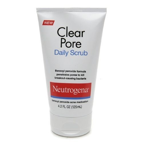 Neutrogena Clear pore daily scrub