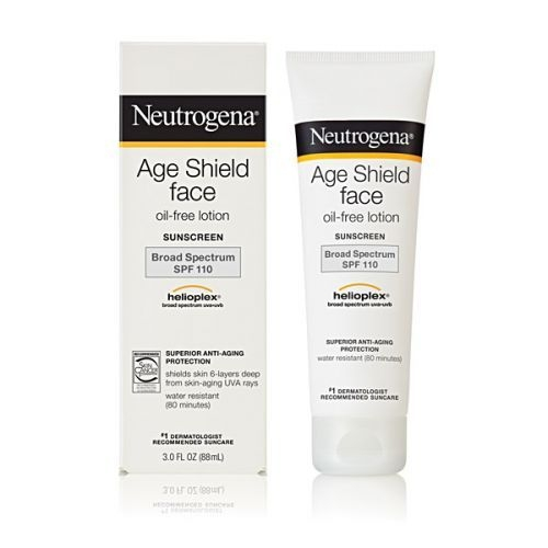 Neutrogena Age Shield Face oil free lotion SPF 110