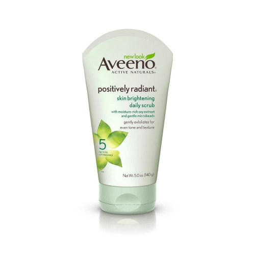 Aveeno positively radiant brightening scrub