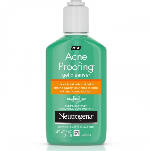 Sữa rửa mặt Neutrogena acne proofting gel cleanser