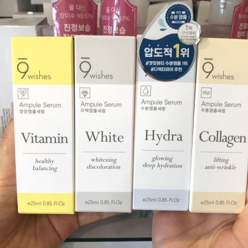 Serum dưỡng da 9wishes perfect ampule serum