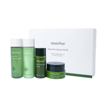 Sample Bộ Kit Trà Xanh Innisfree Green Tea Special Kit Mini size