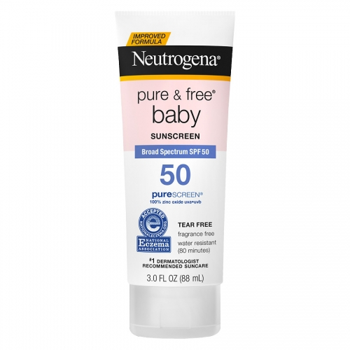 Neutrogena Pure & Free Baby Sunscreen SPF50