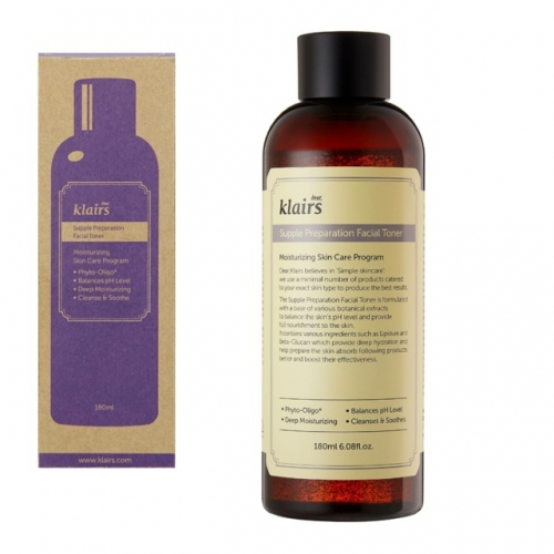 Nước hoa hồng KLAIRS SUPPLE PREPARATION FACIAL TONER